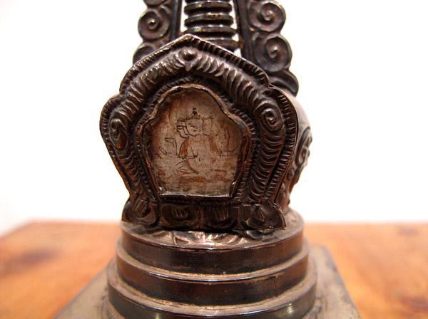 Silver Stupa