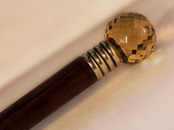 Citrine Walking Stick