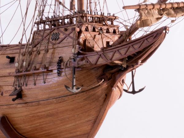 Spanyol Galleon Modell