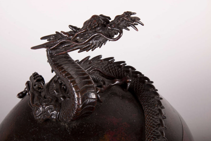 dragon incense burner moro antik