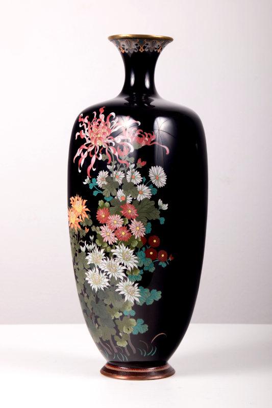 Japan cloisonné vase moro antik