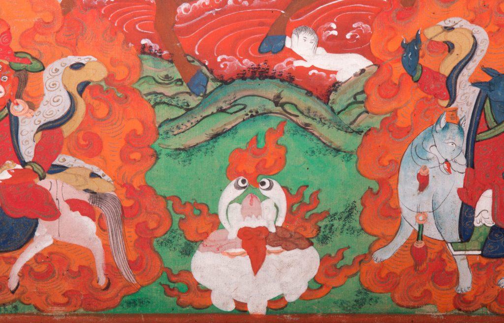 Mongolian thangka