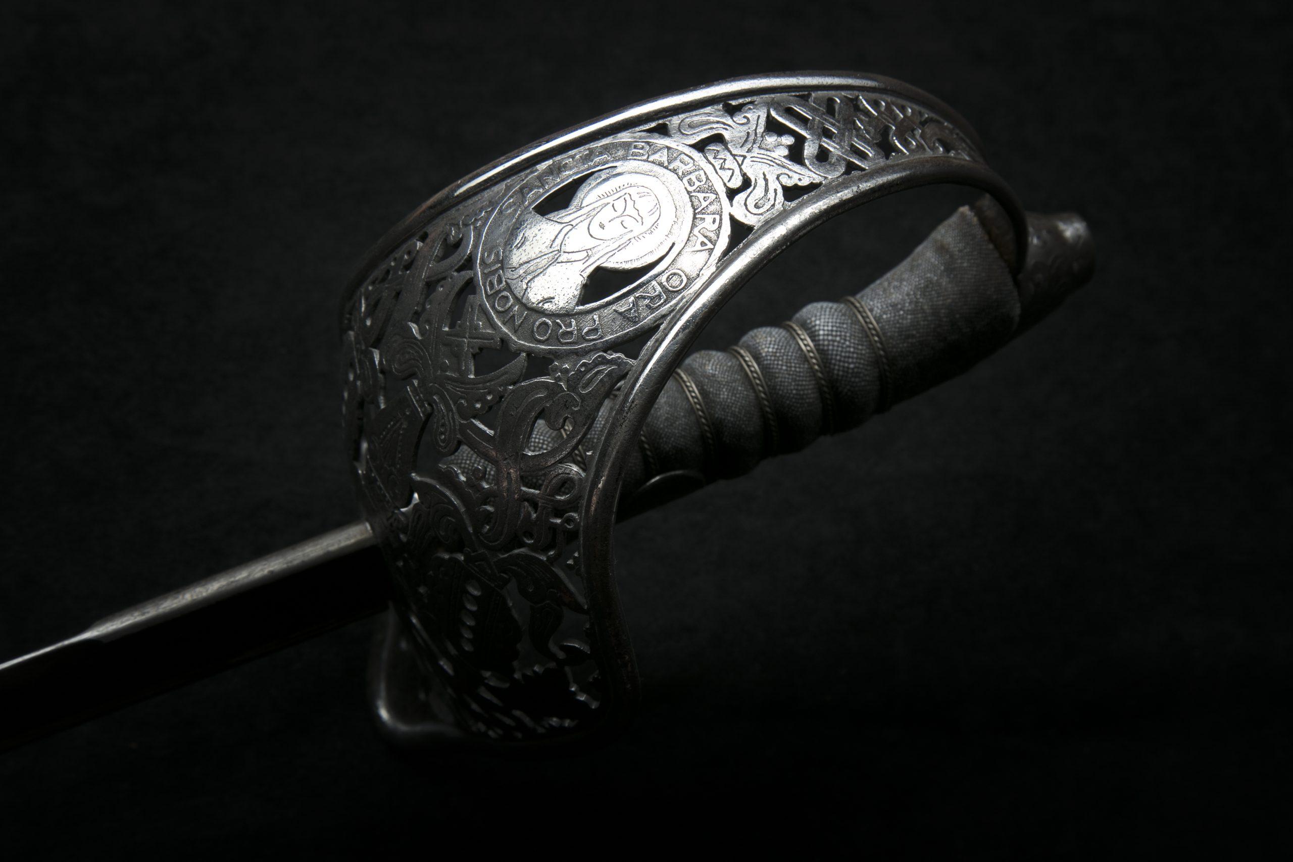 Szent Borbála kard