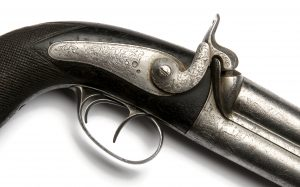 Duble barrel pistol Duplacsövű pisztoly
