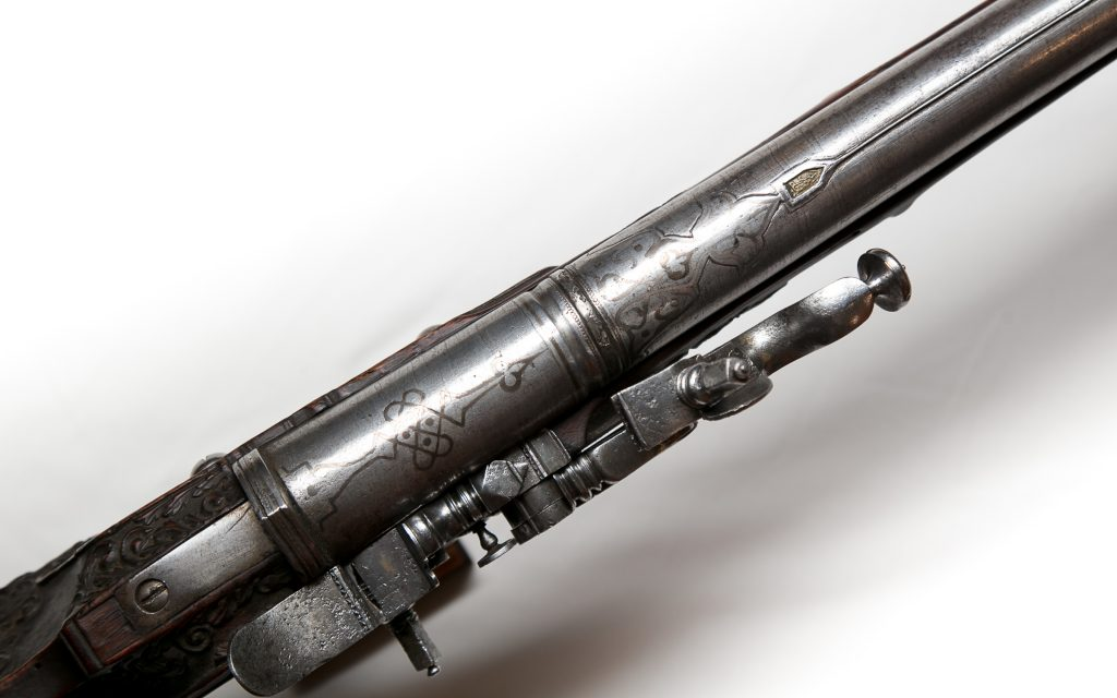 wheel-lock gun