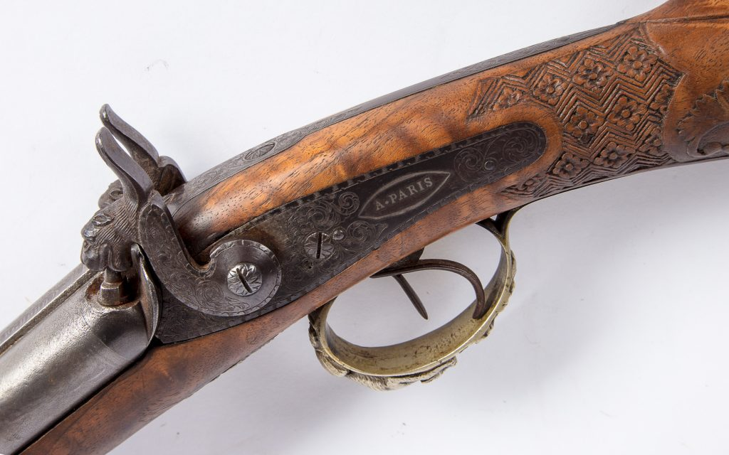 French hunting rifle