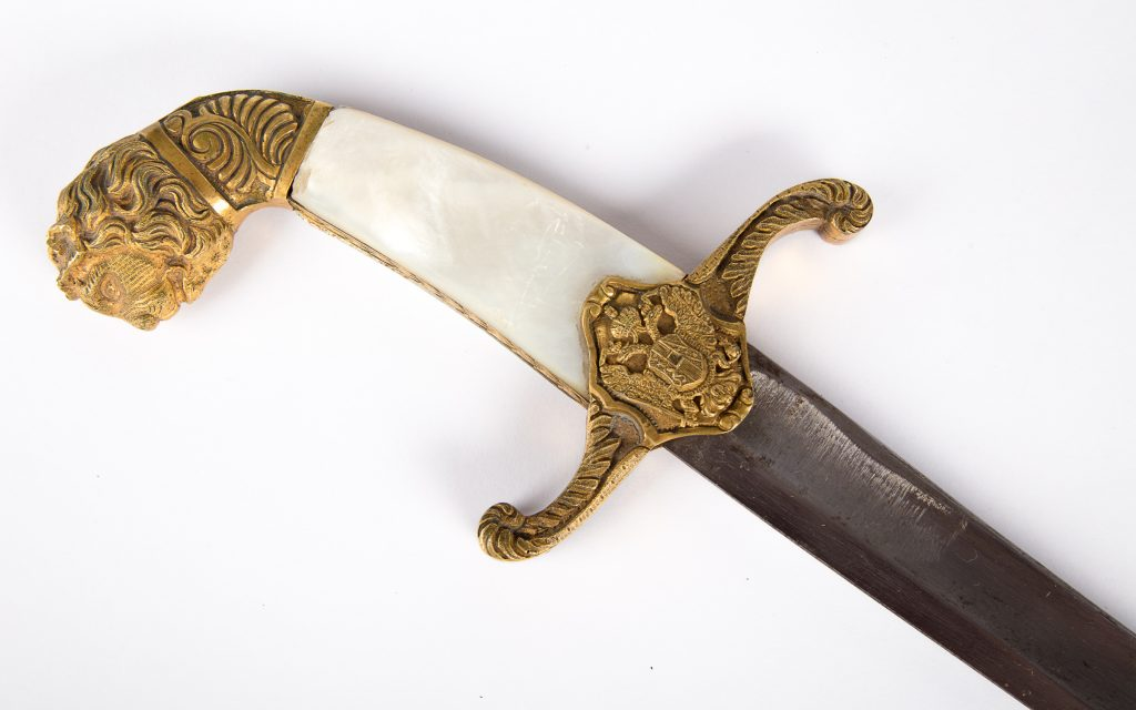 Austro-Hungarian official saber of 1849 pattern